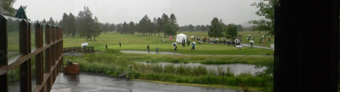2013 PGA PNC Day 2 See All the Rain